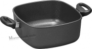Casserole Square 28x28x10 cm (6L) 2 Handles INDUCTION LINE. WOLL