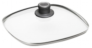 Square safety glass lids. WOLL